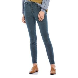 Free People Sun Chaser Corduroy High Rise Skinny
